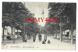 CPA - Blessés Militaires Allées De Mortarieu En 1917 - MONTAUBAN 82 Tarn Et Garonne - L L N° 61 - Scans Recto-Verso - Montauban