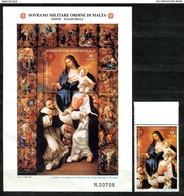 Z1416 SOVRANO MILITARE ORDINE DI MALTA SMOM 2001 Lotto Di 8 Serie Complete + 3 Foglietti, MNH**, Ottime Condizioni - Sovrano Militare Ordine Di Malta