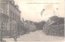 FR18 HENRICHEMONT - 28 - Grande Rue à La Borne - Un Four à Bois - Animée - Belle - Henrichemont
