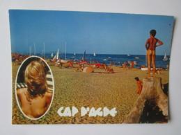 Le Cap D'Agde. Le Centre Naturiste - La Plage. CIM - Agde