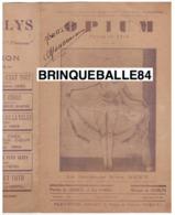 CAF CONC DANSE SIMA REXY PARTITION OPIUM FUMÉE DE RÊVE CHARLYS ABZA 1930 ELDORADO CHINESE FOX INDOCHINE MILITARIA RIMA - Musique & Instruments