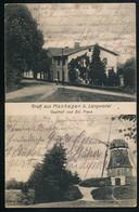 AK/CP Manhagen  Langwedel  Gasthaus Mühle  Nortorf      Gel/circ. 1914   Erhaltung/Cond. 2  Nr. 00736 - Germania