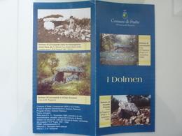 """Pieghevole Illustrato """"Comune Di Statte I DOLMEN"""" 1999 - Dépliants Turistici"""