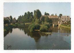 Malestroit- Ile Notre Dame, Canal De Nantes à Brest (carte Jean- Audierne) - Malestroit