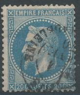 Lot N°47237  N°29B, Oblit Cachet à Date De PARIS (Pl De La Madeleine) - 1863-1870 Napoléon III. Laure