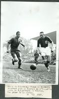 Photo De Presse Originale Football Tournoi FC Sochaux Bologne Mai 1937 - Sports