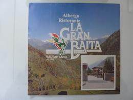 """Pieghevole Illustrato """"ALBERGO RISTORANTE LA GRAN BAITA VALTARTANO ( SO )"""" - Dépliants Turistici"""