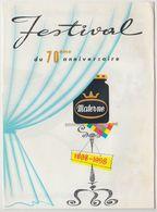 Rare EXPO 58 Confiture Materne Ancien Dépliant Publicitaire Brussels World Fair - Reclame