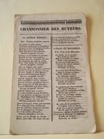 """LES CHANSONS. CHANSONNIER DES BUVEURS. IMPRIMERIE ET LIBRAIRIE DE BAUDOT. TROYES.   100_7282""""b"""" - Livres, BD, Revues"""
