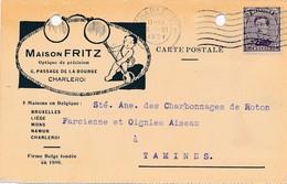 CPA - Belgique -  Charleroi - Maison Fritz - Optique De Précision - Charleroi