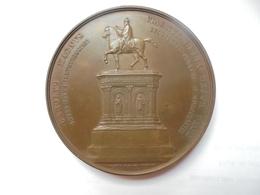 LIEGE-STATUE CHARLEMAGNE- 1868 Par C.JEHOTTE-223 Grammes-75 Mm - Professionnels / De Société
