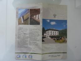 """Pieghevole Illustrato """"ALBERGO DELLA SALUTE COSTA D'OLDA  - TALEGGIO"""" - Tourism Brochures"""
