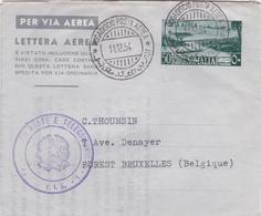 Somalie / Somalia - Entier Postal Lettre Aérienne - Lettera Aerea - 1954 - Somalie (1960-...)