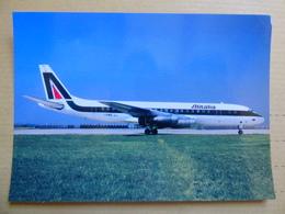 DC 8 43  ALITALIA   I DIWG - 1946-....: Era Moderna