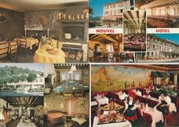 12 Cartes---hotels---restaurants ---france - Postkaarten