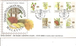 Fruits ( FDc De Persekutuan De 1986 à Voir) - Frutas