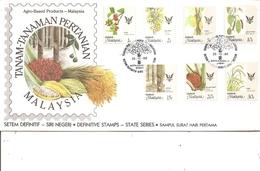 Fruits ( FDc De Sabah De 1986 à Voir) - Frutas