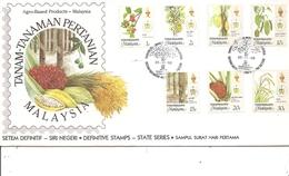 Fruits ( FDc De Trengganu De 1986 à Voir) - Frutas