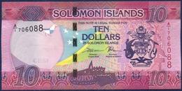 SOLOMON ISLANDS 10 DOLLAR DOLLARS P-33 2017 / 2018 UNC - Isla Salomon