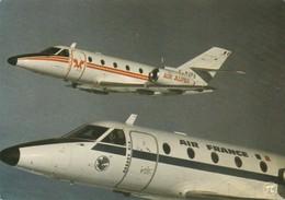 Avion : AIR-ALPES Et AIR-FRANCE : Bi-réacteur Corvette -  C.p.s.m.  - Grand Format - 1946-....: Era Moderna