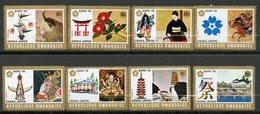 Rwanda, Yvert 362/369, Scott 351/358, MNH - Rwanda