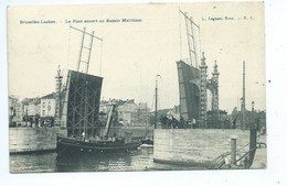 Bruxelles Le Pont Ouvert Au Bassin Maritime - Maritiem