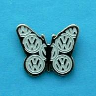 1 PIN'S //  ** LOGO / VOLKSWAGEN / PAPILLON  ** - Volkswagen