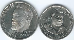 Cape Verde - 1982 - 10 Escudos - Eduardo Mondlane (KM19) & 20 Escudos - Domings Ramos (KM20) - Cap Vert