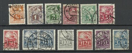 ESTLAND Estonia 1922-1928 Blacksmith Schmied Weaver O - Estonia