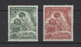 ALLEMAGNE BERLIN.  YT  N° 66/67  Neuf *  1951 - Ungebraucht
