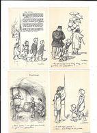 11152 - Lot De  4  CPA Illustrées Par POULBOT  N° 44/45/46/47 - Poulbot, F.