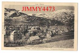 CPA - Vallée De L'Ubaye Vue Générale Aérienne En 1932 - BARCELONNETTE 04 Alpes De Haute Provence - Ed. Mlle Joubert 1871 - Barcelonnette