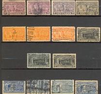 Etats Unis - Lot Timbres Pour Lettres Exprès - Oblitérés - Special Delivery, Registration & Certified