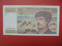 FRANCE 20 FRANCS 1980 (1er ALPHABET) PEU CIRCULER (PAS DE TRACES EPINGLES) - 1962-1997 ''Francs''