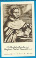 Holycard    Van Fleteren   Carmel IV    52    B. Babtista Mantuanus - Santini