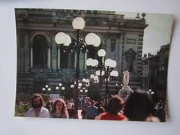 Montpellier. Place De La Comedie. Le Theatre Et La Fontaine Des Trois Graces.  Iris Cap Theojac 340622 - Montpellier