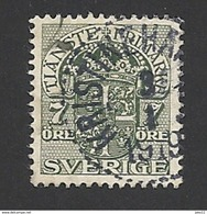 Schweden, Dienstpost, 1910, Michel-Nr. 35, Gestempelt - Servizio