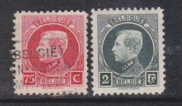 Belgien 1922/ Mi191,82 / Be152 - 1884-1891 Leopold II.