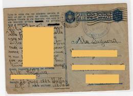 UFFICIO SPROVVISTO DI BOLLO - Cartolina Postale Per Le Forze Armate - Posta Militare - Franchigia -. Storia Postale - 1900-44 Vittorio Emanuele III