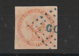 C40 Centimes Orange Avec Oblitération Goré Un Peit Clair En Bas A Gauche Du Timbre - Aigle Impérial