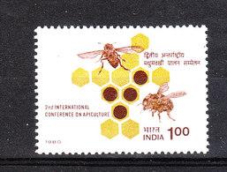 India  -  1980. Apicoltura. Beekeeping. MNH - Alimentazione