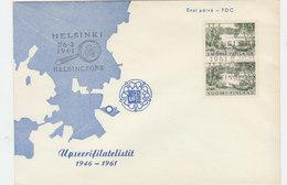 FINLAND 1961 FDC 15 Years Philately.BARGAIN.!! - Finlande