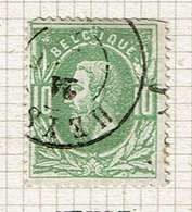 30  Obl  Dc  Heyst  + 15  Coins! - 1869-1883 Léopold II