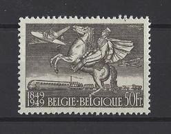 BELGIQUE.  YT  PA N° 24   Neuf *  1949 - Poste Aérienne