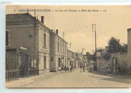 CPA 17 Charente Maritime  Ile D'Oléron Saint Denis La Rue De L'Ormeau Et Hôtel Des Bains - Ile D'Oléron