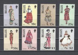 BELIZE.  YT  N° 762/769  Neuf **  1986 - Belize (1973-...)