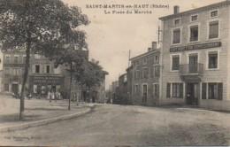 69  SAINT-MARTIN-en-HAUT  La Place Du Marché - France