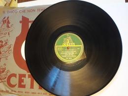 Cetra   -  1950.   Serie DC  5015.  Ugo Dini - Brenda Gioi - Narciso Parigi - 78 G - Dischi Per Fonografi