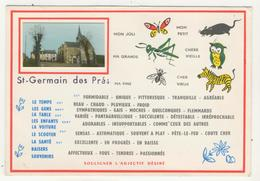 45 - St-Germain Des Prés            Humoristique Avec Minivue - Frankreich