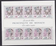 Europa Cept 1989 Monaco  M/s ** Mnh (42247D) - 1989